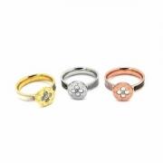 LOUIS VUITTON花柄指輪コピー人気品3カラーゴールド付け方色ヴィトンコピー指輪リングスーパーコピー即発送OK可愛め