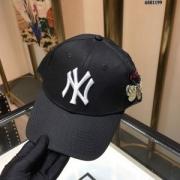 19ランキング1位 GUCCIコットン帽子スーパーコピー 刺繍NY英字 グッチキャップコピー 無地デザイン 3色選択可 ギフトにも 被り心地よく