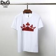 ドルチェ tシャツ コピー 着こなしが簡単につくれるアイテム Dolce & Gabbana メンズ 日常 コーデ 3色可選 品質保証