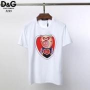 Dolce & Gabbana メンズ tシャツ ユニークなデザインで大人気 ドルチェ&ガッバーナ 通販 ブラック ホワイト コピー 激安