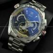 隠せない高きセンス力 タグホイヤー【TAG HEUER】 メンズ腕時計 日付表示 月付表示 43.05mm ステンレス シルバー