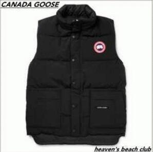冬に活躍してくれるカナダグースダウンベスト メンズCANADA GOOSE ダウンアウターブラック_偽物 ブランド 激安