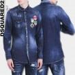 2017年モデル入荷人気激売れ ディースクエアード DSQUARED2 デニムジャケット