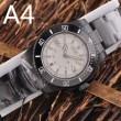 定番 ファッション 個性的! 4色可選 男性用腕時計 サファイヤクリスタル風防 ロレックス ROLEX