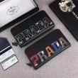 高評価の2018人気品 プラダPRADA 2色可選 今夏間に合う人気新作入荷  ジップアラウンド財布 有名人愛用
