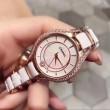 【ファッション新品注目】 女性用腕時計 ブランド コピー スーパー コピー 2色可選 輸入クオーツムーブメント 冬季流行り
