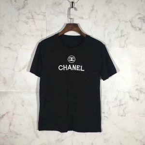 数量限定品  CHANEL シャネル  耐久性に優れた 半袖Tシャツ  2色可選 2019年最注目の