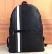 メンズ ブラック シンセティック バックパック000000006224068001バリー 偽物ベーシック大好評シンプル大容量バッグ