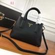使えて可愛いデザイン 人気のオシャレものから PRADA プラダ ハンドバッグ 3色可選