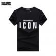 激安大特価格安今季トレンドイマドキ感高め半袖Tシャツ黒白メンズDSQUARED2ディースクエアード コピー 通販