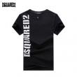 激安大特価本物保証レイヤードtシャツ半袖黒白DSQUARED2ディースクエアード コピードライタッチ相性抜群