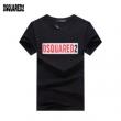 激安大特価低価コットンTシャツ黒白男性用DSQUARED2ディースクエアード 半袖 コピー十分戦力快適さフレッシュ
