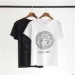 VERSACE ヴェルサーチ 半袖Tシャツ 2色可選 個性的なスタイリング 男女兼用 一目惚れ必至2019夏季セール
