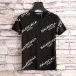 バレンシアガ tシャツ コピーBALENCIAGA最安値セールアメリカンスタイルTシャツ黒白赤色ファッションメンズ
