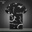 人気モデルの2019夏季新作 現地価格お得な春夏新作 FERRAGAMO サルヴァトーレフェラガモ 半袖Tシャツ 3色可選