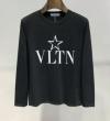 話題沸騰中の2019夏季新作 ファッション感度の高い ヴァレンティノ VALENTINO 長袖Tシャツ 2色可選
