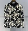 注目が集まる2019夏季新作 ヴェルサーチ VERSACE 長袖Tシャツ 2色可選 季節の変わり目に活躍する