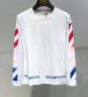 人気モデルの2019夏季新作 Off-White オフホワイト 長袖Tシャツ 2色可選 春夏も引き続き注目