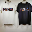 大切な方へのギフト  半袖Tシャツ フェンディSS19完売必至  FENDI 2019年春夏新作モデル 2色可選 国境も時代も超えた夏季新作