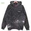 シュプリーム SUPREME 19AW Spider Web Hooded Sweatshirt  パーカー暖かさと軽い着心地を両立させている