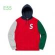 Supreme 19aw S Logo Colorblocked Hooded Sweatshirt  3色可選 例年完売が相次ぐ秋冬新品パーカー