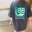 爆買い品質保証 BALENCIAGA半袖tシャツ通販 贈るべきのプレゼント   バレンシアガコピー 注目度が急上昇中