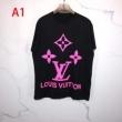 ルイ ヴィトン 多色可選 LOUIS VUITTON 日本未入荷モデル 半袖Tシャツ早くも完売している