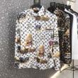 Louis Vuitton タペストリーDNAシャツ コーデ 春夏2020年も大豊作 ヴィトン コピー激安モノグラム優しい着心地