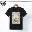 ドルチェ&ガッバーナ ライオンプリント tシャツ 2020トレンド 通販Dolce&Gabbanaカジュアルコーデゆったり 男性トップス