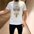 フェンディスーパー コピーFENDI通販半袖tシャツ シンプルでカッコ良く 機能性もオシャレさも抜群 大人な印象が溢れ出る