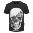 芸能人に愛用者続出  半袖Tシャツ 2色可選 新品で手に入れる フィリッププレイン PHILIPP PLEIN