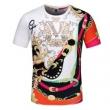 日本最新入荷VERSACE ヴェルサーチtシャツ コピー クラッシュデザイン2020春夏人気ランキング 吸汗速乾 スポーツウェア