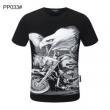 多色可選 シーンを選ばず使える  フィリッププレイン PHILIPP PLEIN セレブ愛用の超人気商品 半袖Tシャツ