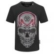 フィリッププレイン 2色可選 圧倒的な人気を集める PHILIPP PLEIN 絶大な革新性 半袖Tシャツ 快適な使用感