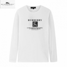 秋冬メンズコーデバーバリー服店舗  Burberryオシャレクルーネック長袖tシャツおすすめお手頃高品質な人気ブランド新作