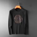 冬で可愛くて楽チンな人気アイテム 2019年秋冬最新のトレンド ヴェルサーチ VERSACE 長袖Tシャツ 2色可選