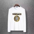 2019秋冬におしゃれな着こなし 冬のお洒落を楽しむ  ヴェルサーチ VERSACE 長袖Tシャツ 4色可選