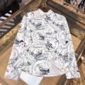 2色可選 ココチイイ春夏柄が魅力 シャツ 春夏らしくて軽やかにする アルマーニ ARMANI