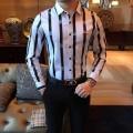 2色可選 ビジネスシーンに大活躍  シャツ ふんわりスタイルが最適 アルマーニ ARMANI