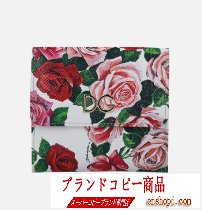 高級感が溢れたファッショントレンド新作 Dolce & Gabbana ドルガバ コピー 三つ折財布 花柄 オシャレなイメージがある