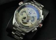 優れた品質タグホイヤー カレラ コピー TAG HEUER  自動巻き腕時計 メンズ  ステンレス シルバー  45.45mm_品質保証