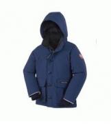 高級品 通販CANADA GOOSE カナダグース 2017 子供用ダウンジャケット BOYS LOGAN PARKA 人気コート おしゃれアウター_品質保証