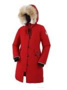 2017秋冬ロングダウンコート CANADA GOOSE カナダグース 通販 レディース レッド 子供用ダウンジャケット ロングアウター_品質保証