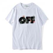 2018春夏新作2色可選 Off-White オフホワイト Tシャツ/半袖 スタイルアップ効果