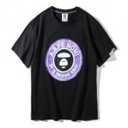 2019年夏の王道ブランド! 半袖Tシャツ ア ベイシング エイプ A BATHING APE 激レア 限定  2色可選