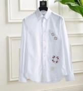 トムブラウン コピー正規品取扱店超激得定番シャツ長袖THOM BROWNE軽い鮮やかラクラクホワイトぶるーシャツ