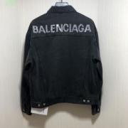 バレンシアガ コート メンズ ハーフジップ 二色可選 BALENCIAGA ジャケット コピー 2019最新コレクション ブラック 大人気