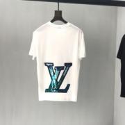 ヴィトン tシャツ コピー 激安 LOUIS VUITTON 五分袖 トップス 二色可選 カットソー 新作コレクション カジュアル 通販