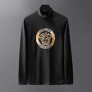 2色可選 ヴェルサーチ VERSACE 長袖Tシャツ 2019年秋冬新色続々登場 今季も流行のチェック柄おすすめ