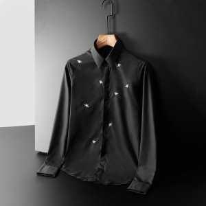シャツ 2色可選  ディオール DIOR 季節感のあるコーデを完成 2019秋冬の最旬コーデ術